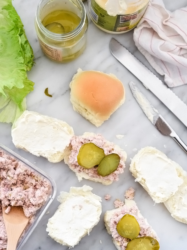 Ham Salad Sandwiches | foodiecrush.com