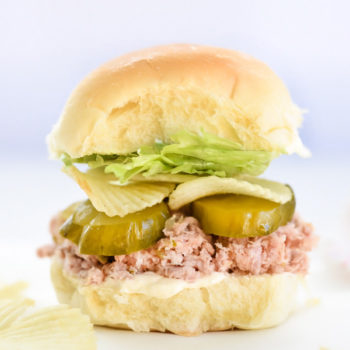 Ham Salad Sandwiches | foodiecrush.com
