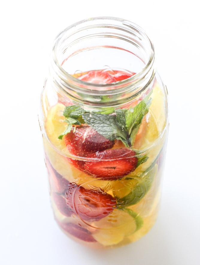 Pineapple Sangria howsweeteats.com | foodiecrush.com