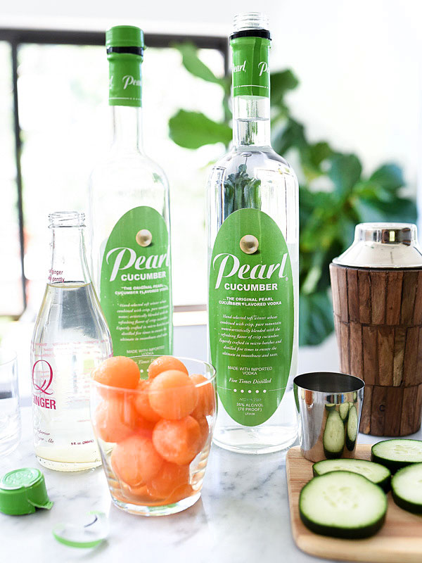Cucumber Delight Cocktail on foodiecrush.com
