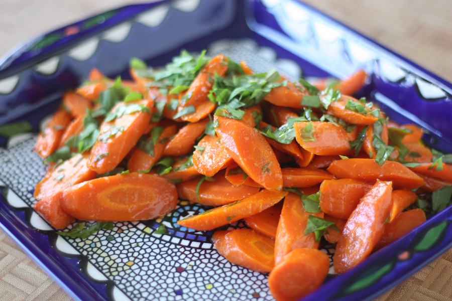Roasted Carrots with Fresh Sorrel Recipe | Project Domestication | Whole30 Compliant