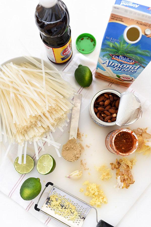 Thai Coconut Noodle Salad | foodiecrush.com