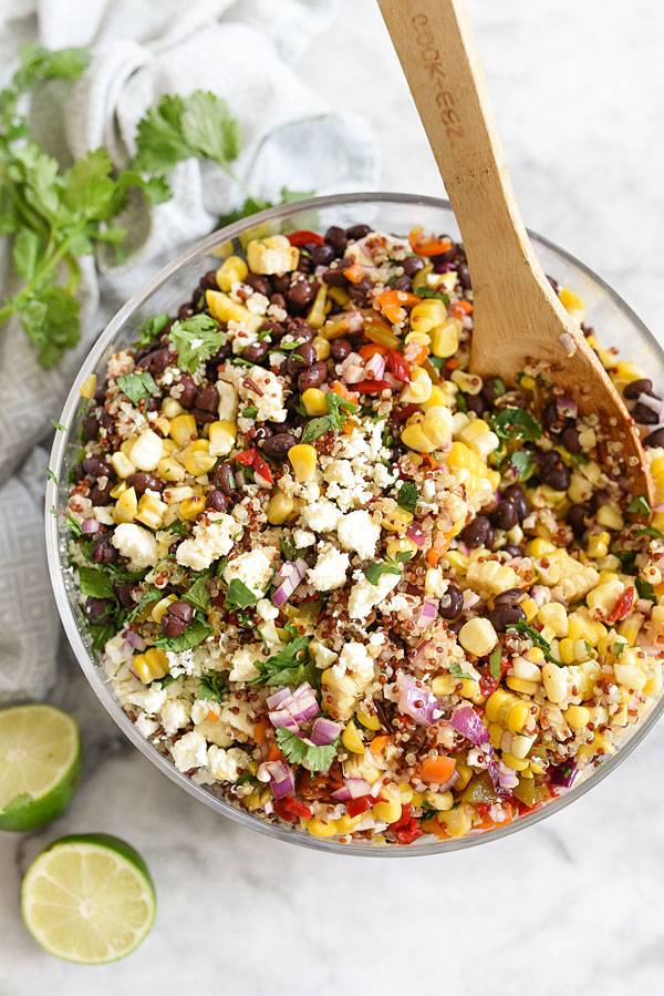 Grilled corn salad recipes