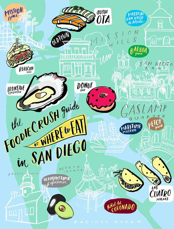 Food Bloggers Guide Of Where To Eat In San Diego