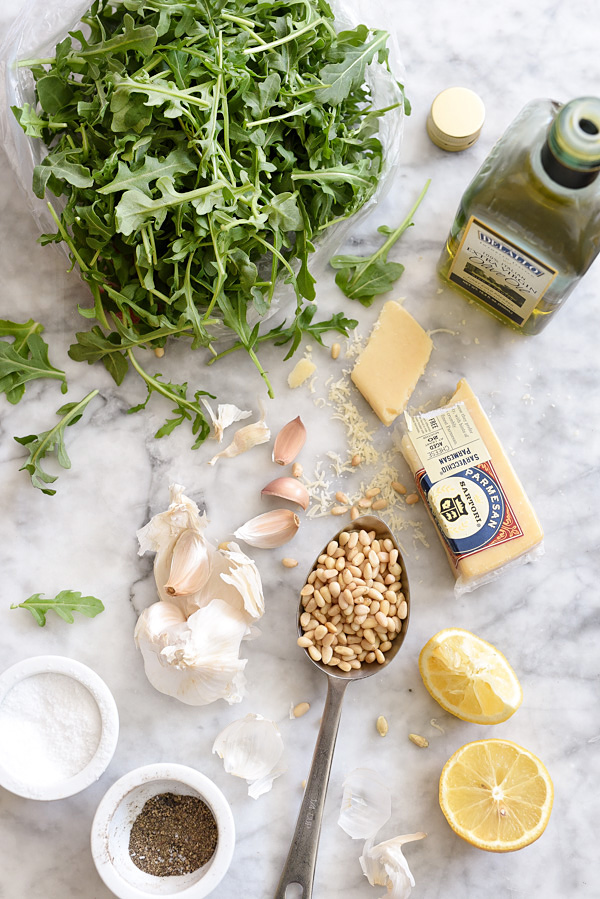 How to Make Arugula Pesto | foodiecrush.com