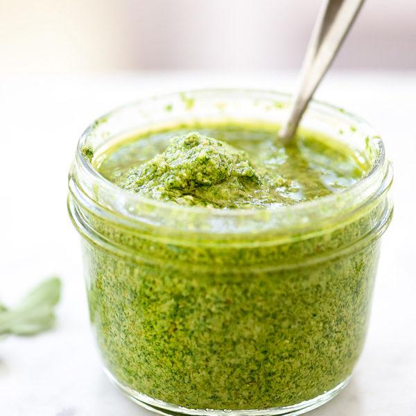 How to Make Arugula Pesto   foodiecrush.com