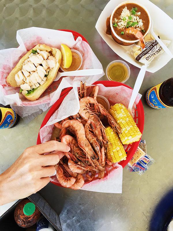 Royal Reds Shrimps at The Shrimp Shack Seaside, FL | foodiecrush.com