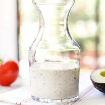 Homemade Ranch Dressing Recipe | foodiecrush.com