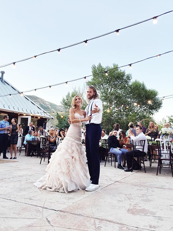 Maggie Sottero wedding dress   foodiecrush.com