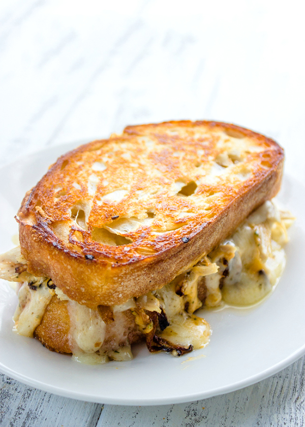 Award Winning Chipotle Chicken Grilled Cheese Sandwich from Gimme Delicious | foodiecrush.com