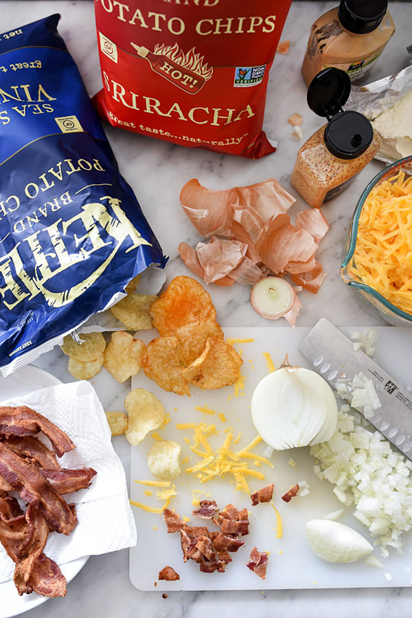 DIP IN! Bacon Beer Cheese Dip any man or woman will love foodiecrush.com #cheese #beer #dip #bacon #football #tailgating