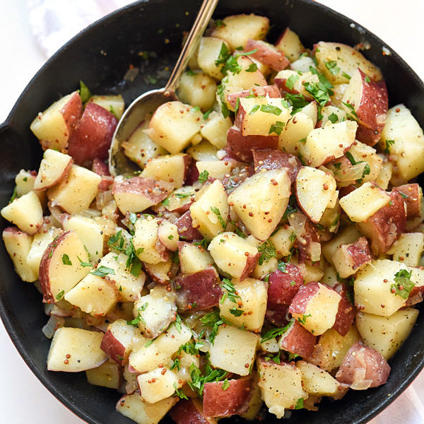 German Potato Salad | foodiecrush.com
