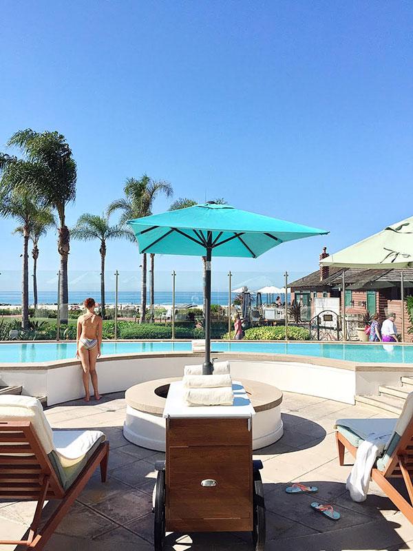 Spa at Hotel del Coronado, Coronado, CA foodiecrush.com