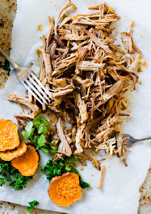 Juicy Cuban Pulled Pork from Heartbeet Kitchen | foodiecrush.com