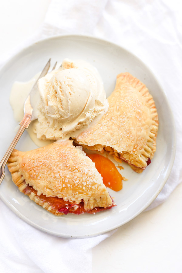Raspberry Peach Hand Pies | foodiecrush.com #recipes #sweet #peach