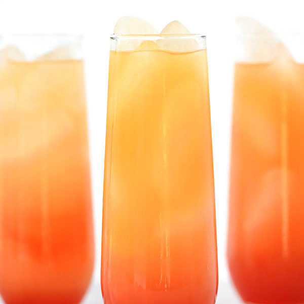 Tequila Sunrise Cocktail | foodiecrush.com