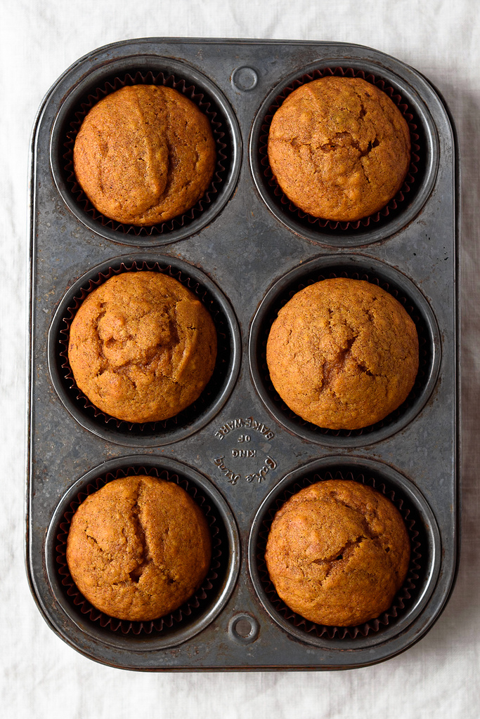 Easy Pumpkin Cornbread Muffins from Fork Knife Swoon | foodiecrush.com