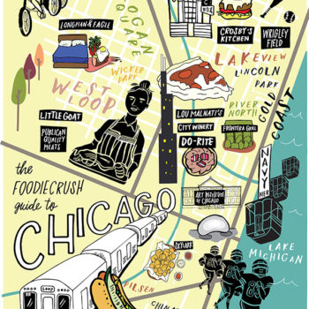 Food Bloggers' Guide of Where to Eat in Chicago, IL on foodiecrush.com