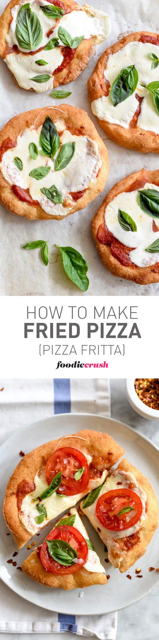 Fried Pizza takes your regular pizza dough to new heights foodiecrush.com
