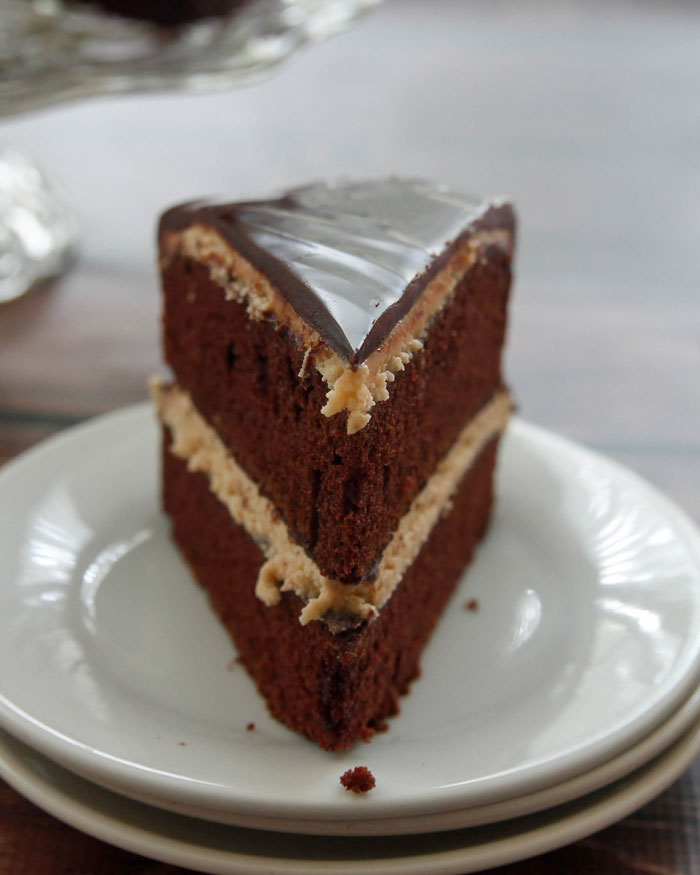 Peanut Butter Cup Cake on foodiecrush.com