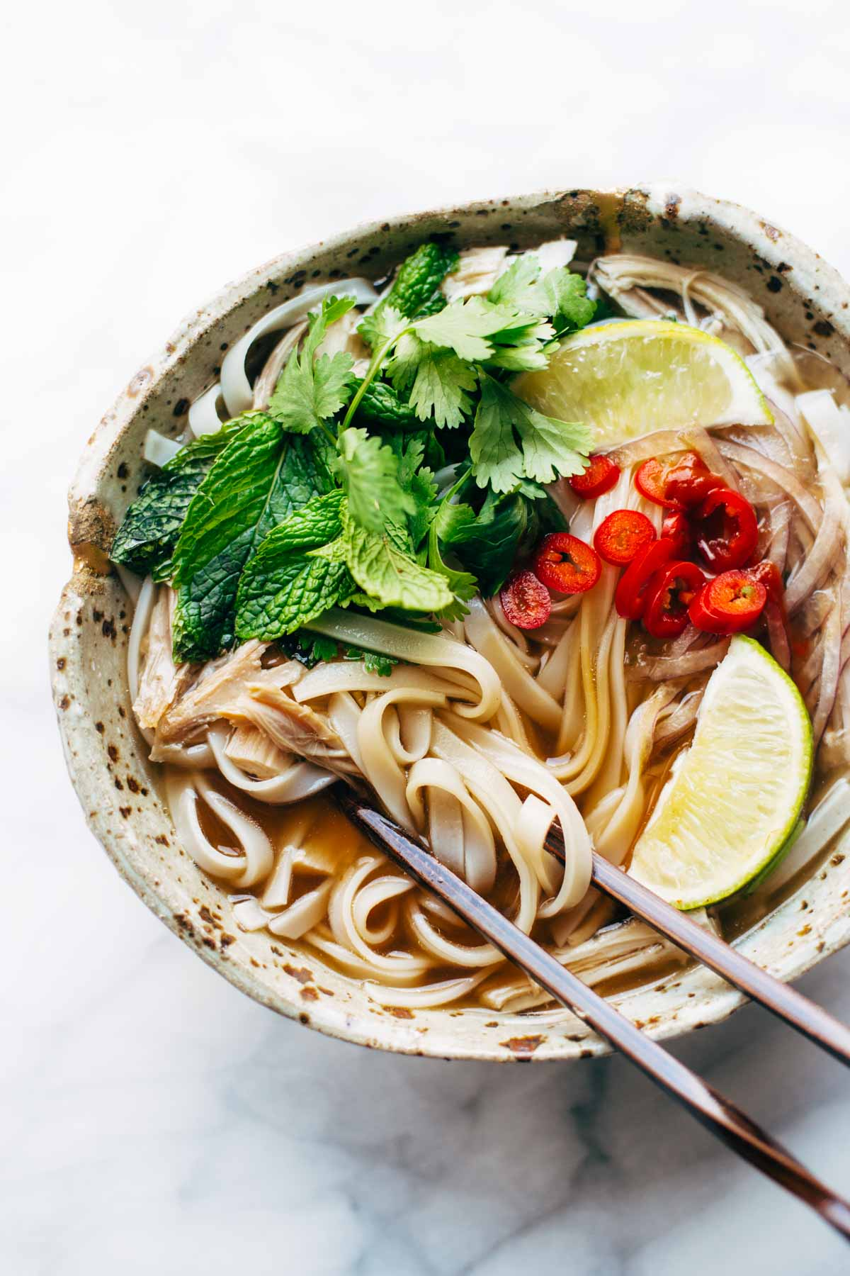 Easy Turkey Pho from Pinch of Yum from foodiecrush.com