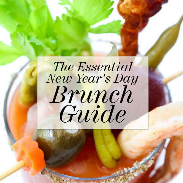 The Essential New Year's Day Brunch Guide on foodiecrush.com
