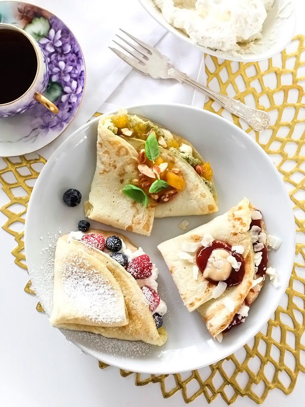 Sweet and Savory Crepes from foodiecrush.com on foodiecrush.com