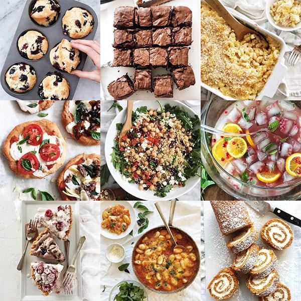 Best Nine on Instagram foodiecrush.com