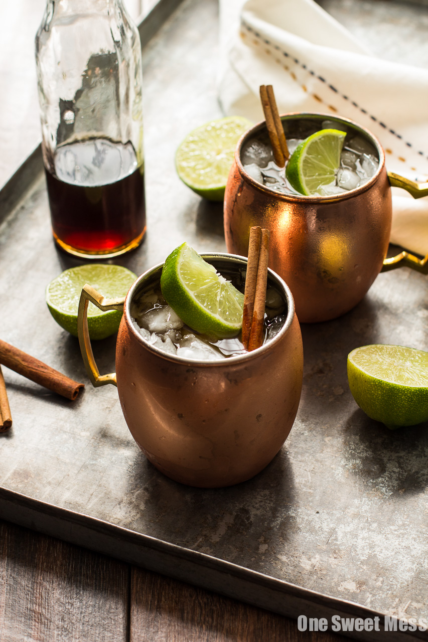 The Mid-Winter Mule from One Sweet Mess on foodiecrush.com