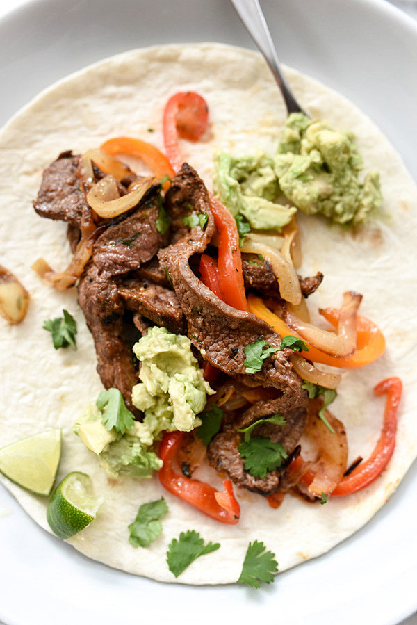 The Best Steak Fajitas | foodiecrush.com #easy #marinade #skillet #recipe #seasoning
