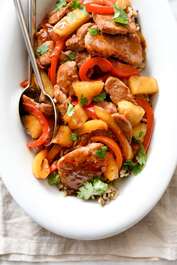 Healthier Sweet And Sour Pork