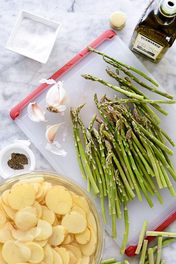 Sheet Pan Mustard Salmon Dinner | foodiecrush.com #dijon #recipes #grainy #baked #healthy