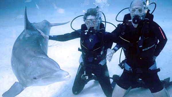 Scuba-with-Dolphins