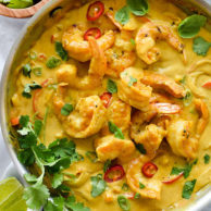 Shrimp In Thai Coconut Sauce | foodiecrush.com