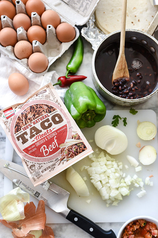 shredded beef tacos ingredients