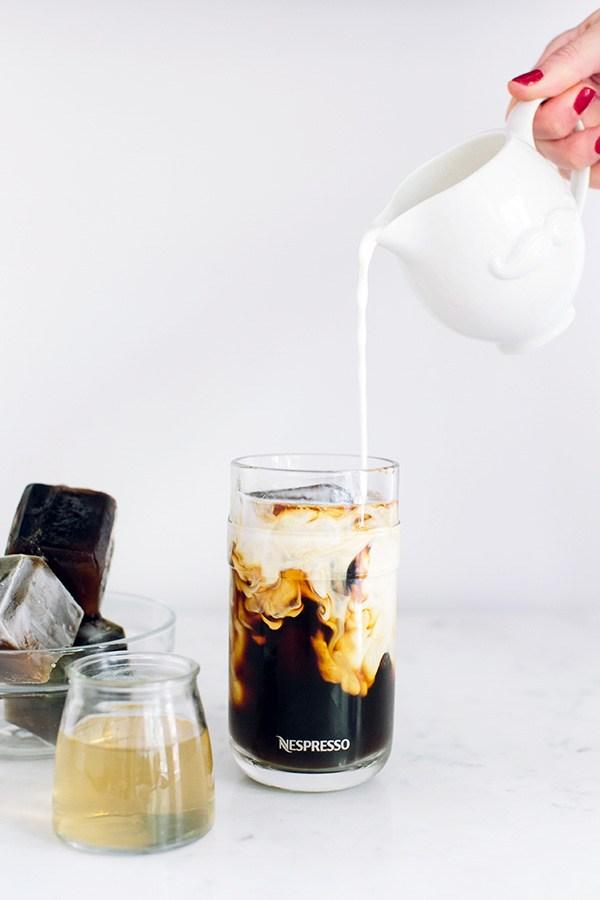 Nespresso Caramel Iced Coffee from Waiting on Martha   foodiecrush.com