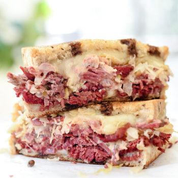My Favorite Reuben Sandwich Recipe | foodiecrush.com