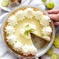 Key Lime Pie Recipe | foodiecrush.com