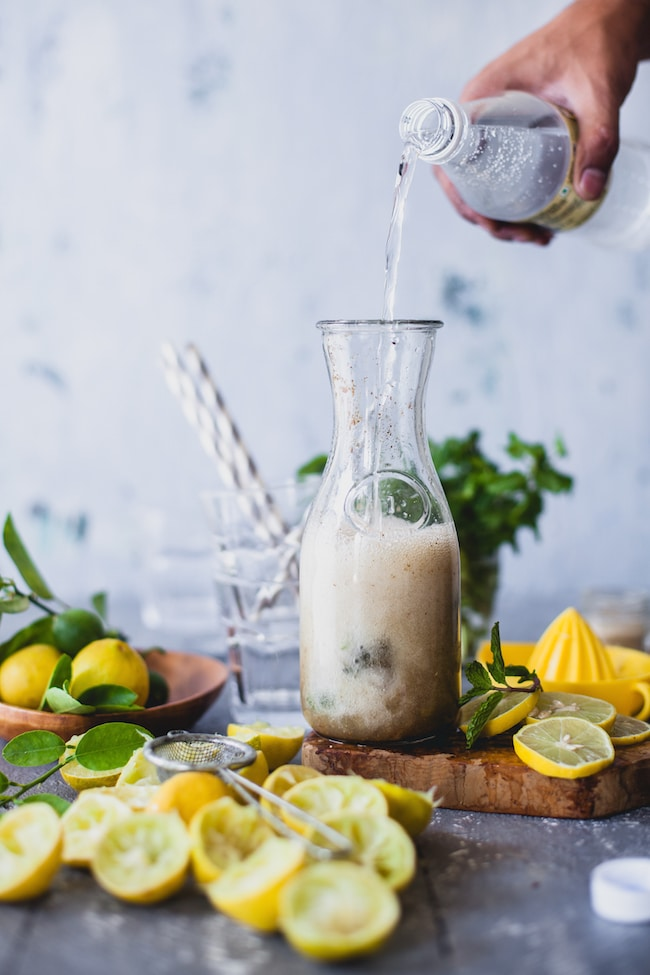 Spiced Lemonade Fizz from Playful Cooking on foodiecrush.com