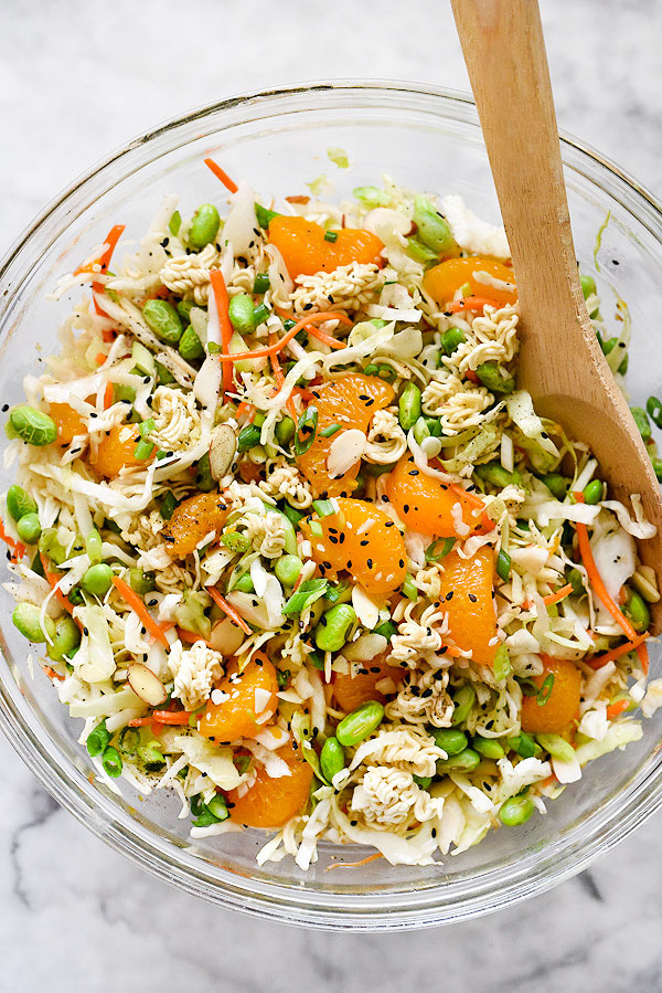 Asian noodle slaw Thanks! Willingly