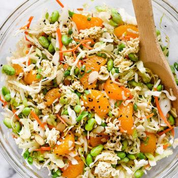 Asian Ramen Noodle Salad | foodiecrush.com