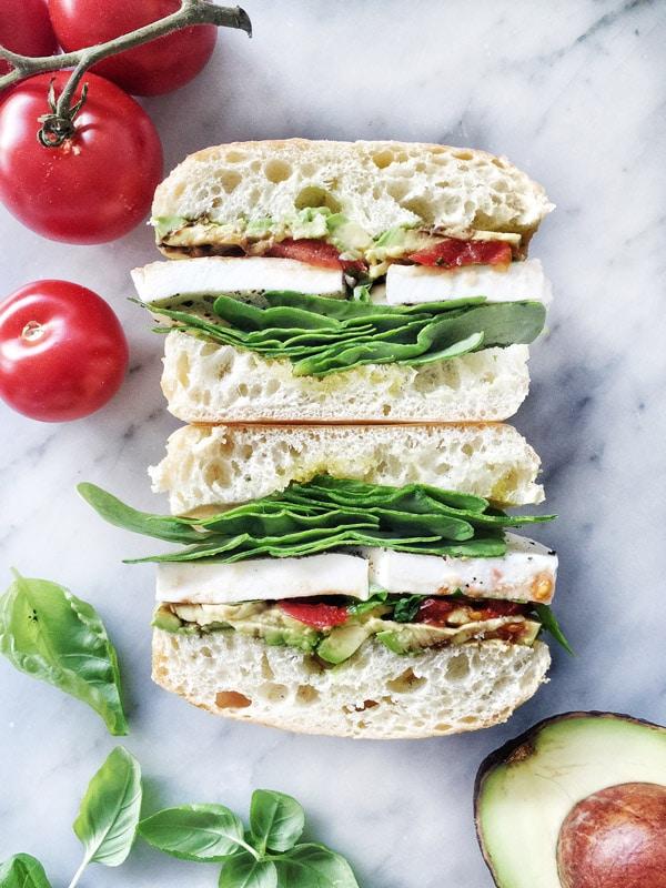 Caprese-Sandwich-foodiecrush.com