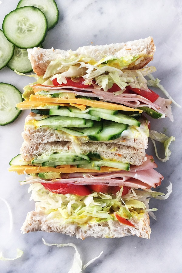 How to Build a Better Sandwich | #ideas #fordinner #forlunch #cold foodiecrush.com