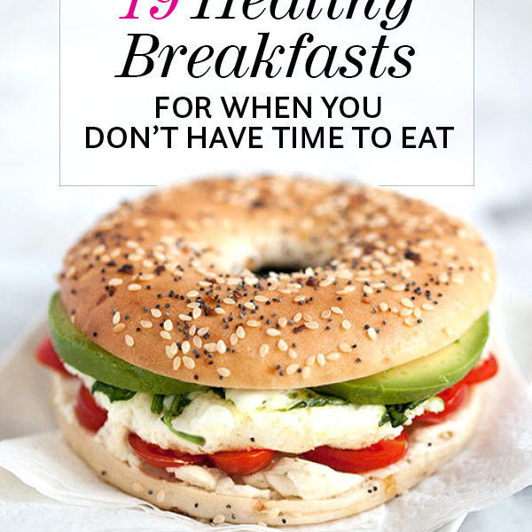 19 Healthy Breakfasts for When You Don't Have Time to Eat | foodiecrush.com