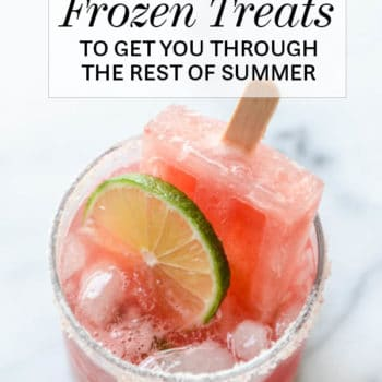 33 Boozy Frozen Treats to Get You Through the Rest of Summer | foodiecrush.com