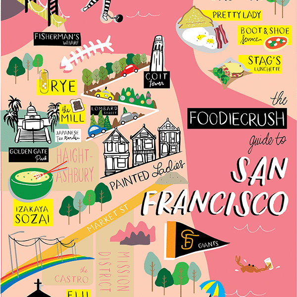 Food Bloggers' Guide of Where to Eat in San Francisco & Oakland, CA | foodiecrush.com