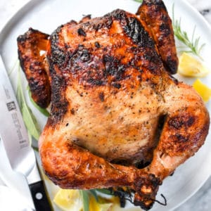 How to Make a Great Rotisserie Chicken | foodiecrush.com