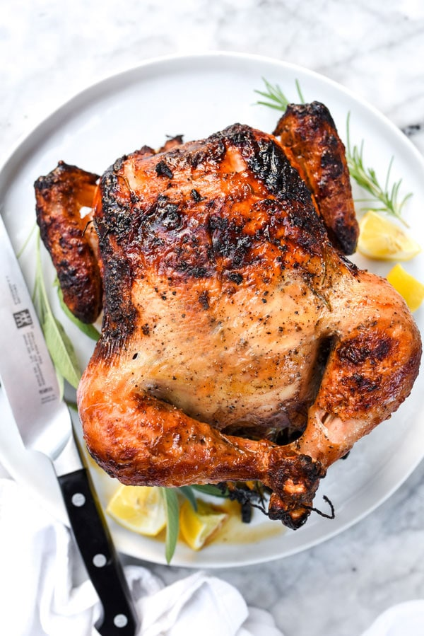 How to Make a Great Rotisserie Chicken | #oven #juicy #recipes #whole #andvegetables foodiecrush.com
