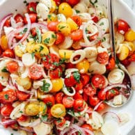 Tomato and Hearts of Palm Salad | foodiecrush.com