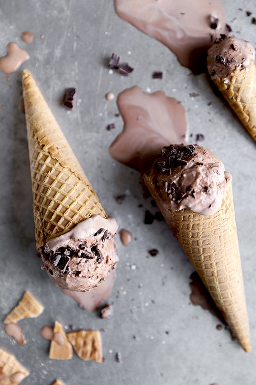 Chocolate Stout Ice Cream from floatingkitchen.net on foodiecrush.com